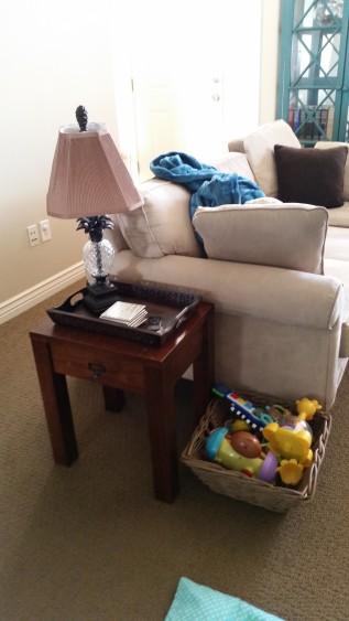 Livingroom basket