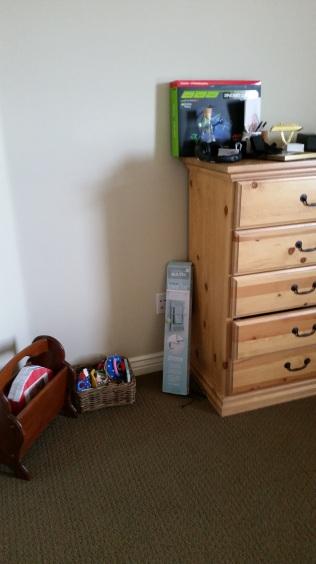 Master bedroom basket